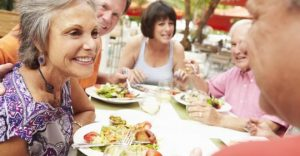 Eating with Dentures - Acadia Dental