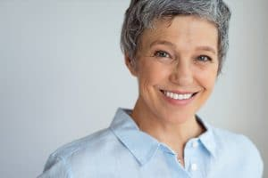 Dental Implants patient smile, Acadia Dental Frederick 21701