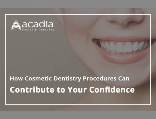 How Cosmetic Dentistry Procedures Can Contribute To Your Confidence